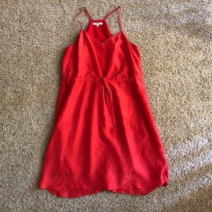 ✨ Madewell Strappy Red Dress